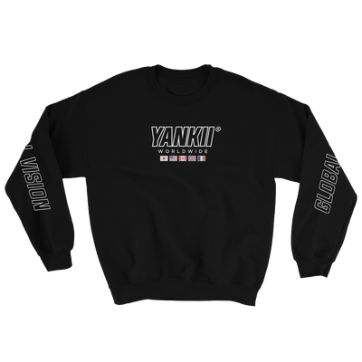 JDM Sweatshirt | Yankii Worldwide - Crewneck Black