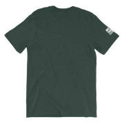 japanese clothing t-shirt green back