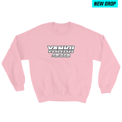 japanese streetwear sweater pink