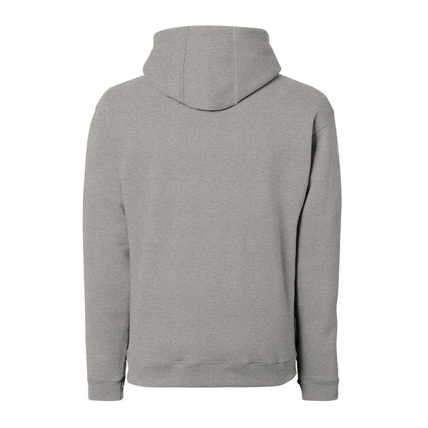 japanese clothing hoodie grey back