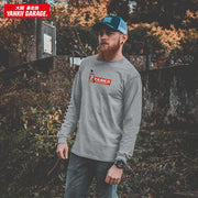 JDM T-Shirt | Yankii Limited - Michelin Long Sleeve Grey