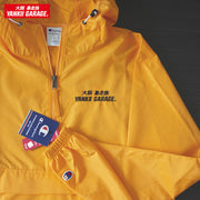 champion windbreaker yellow