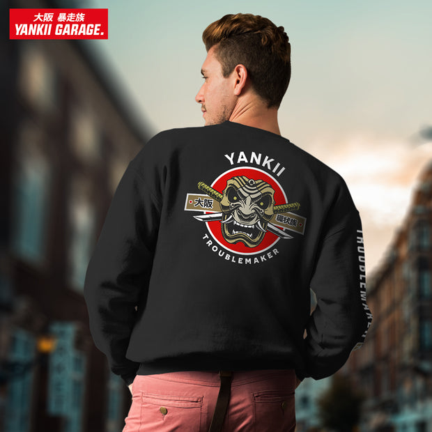 Japanese samurai men sweater