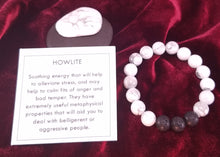 Load image into Gallery viewer, Howlite Healing Gemstone Braclet