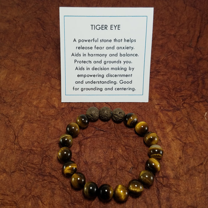 Tiger Eye Healing Gemstone Braclet