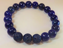 Load image into Gallery viewer, Lapis Lazuli Healing Gemstone Bracelet