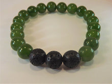 Load image into Gallery viewer, Jade Healing Gemstone Bracelet