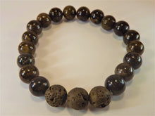 Load image into Gallery viewer, Bronzite Healing Gemstone Bracelet.