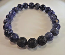 Load image into Gallery viewer, Sodalite Healing Gemston Bracelet
