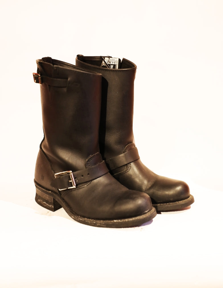 Vintage Frye Engineer Boots (Size 7.5)