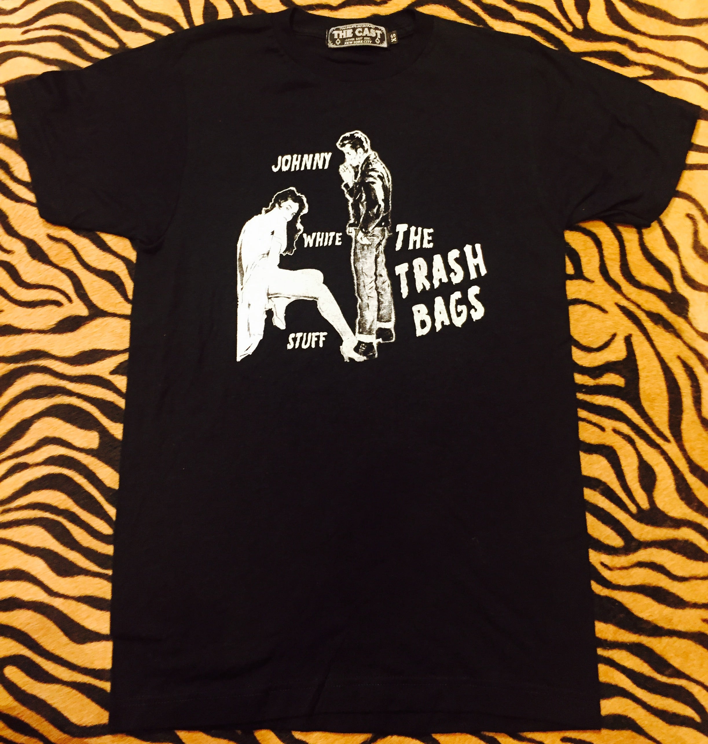 Johnny White Stuff T (Black)