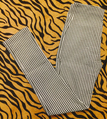 Cigarette Pant (Houndstooth)