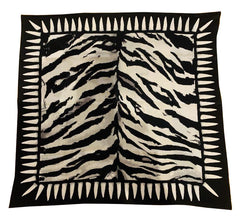 Tiger Teeth Bandana - Silver