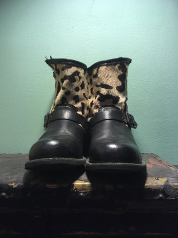 Limited Edition FRYE Engineer Boots (Size 9.5)