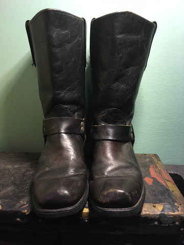 Vtg Sonora Harness Boots (Size 9.5)