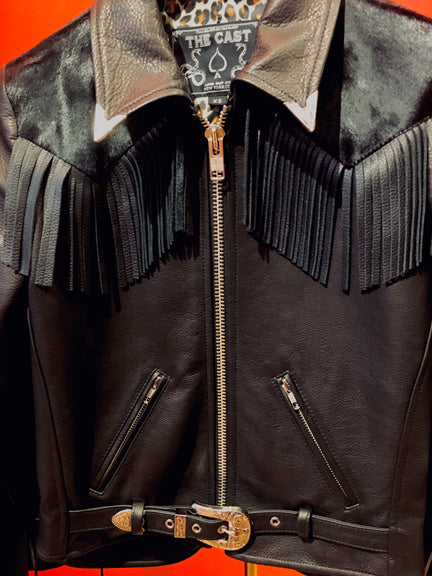 JOHNNIE JACKET w/ FRINGE
