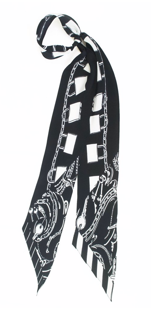 Locks Super Skinny Scarf (Black)