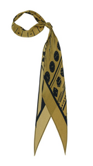 Rockins Super Skinny Scarf (Gold)