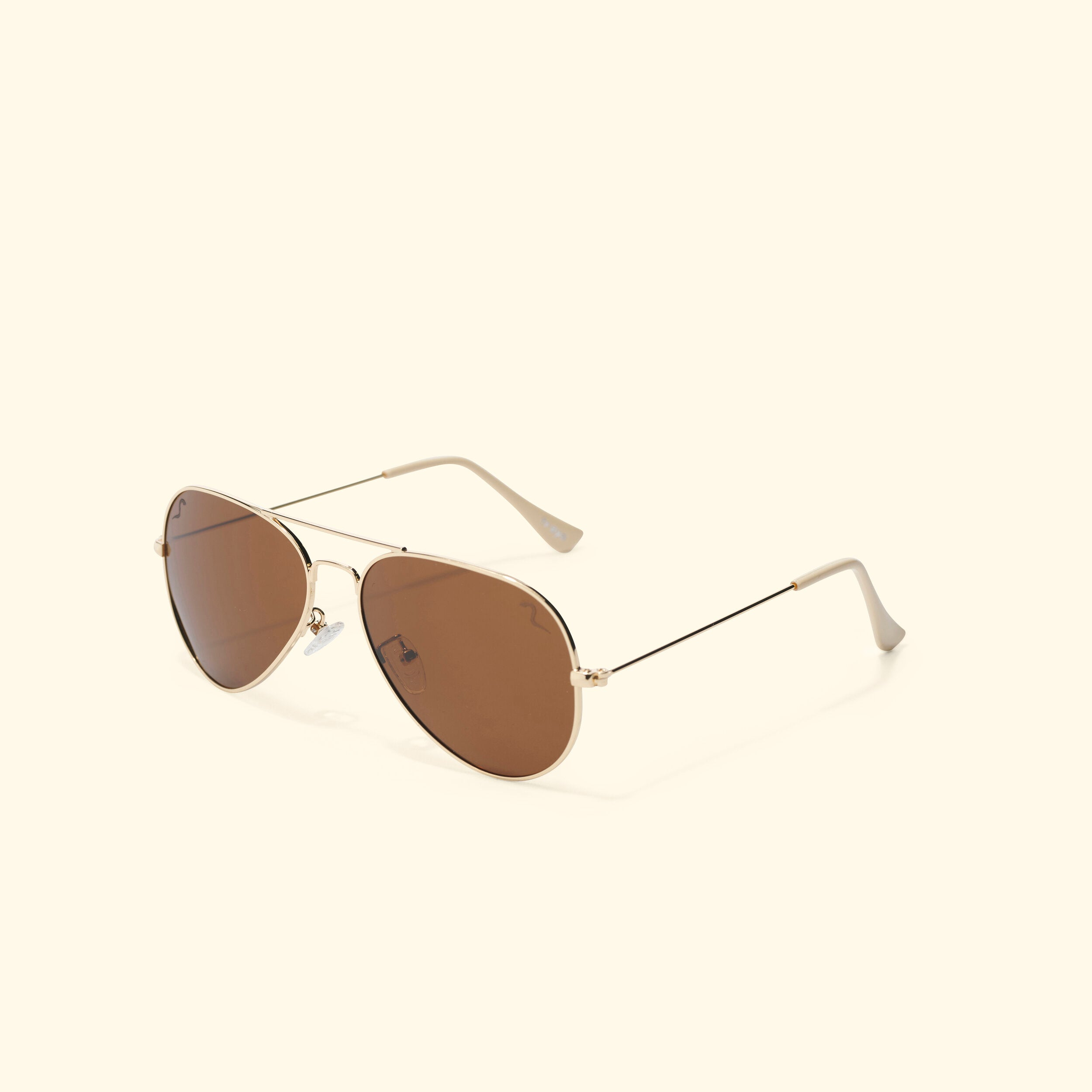 TV EYE Aviators (Gold w/Polarized Brown Lense)