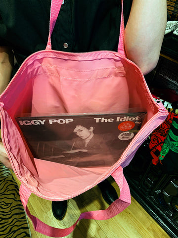The Cast Zip Tote (Pink)