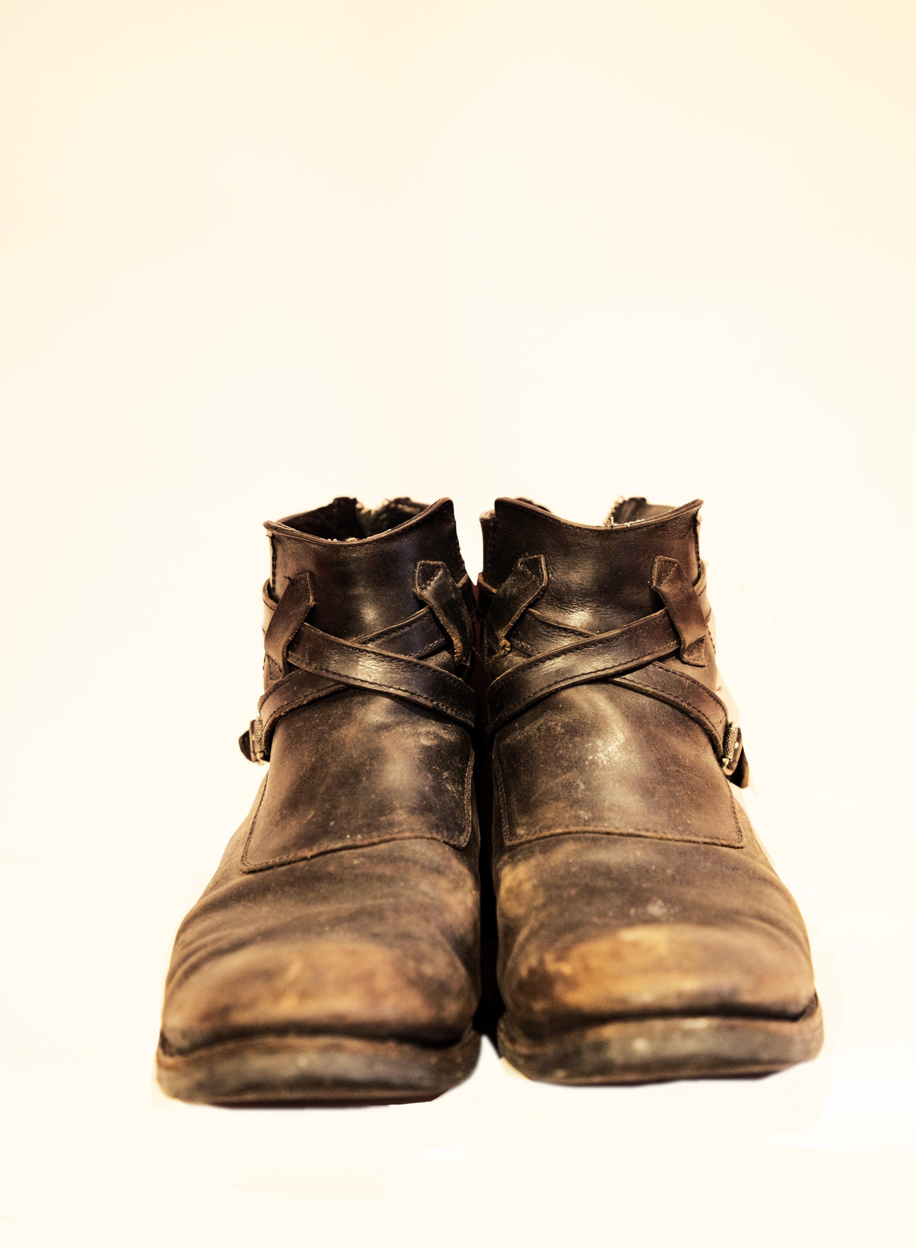 Vintage FRYE Ankle Boots (Size 11)
