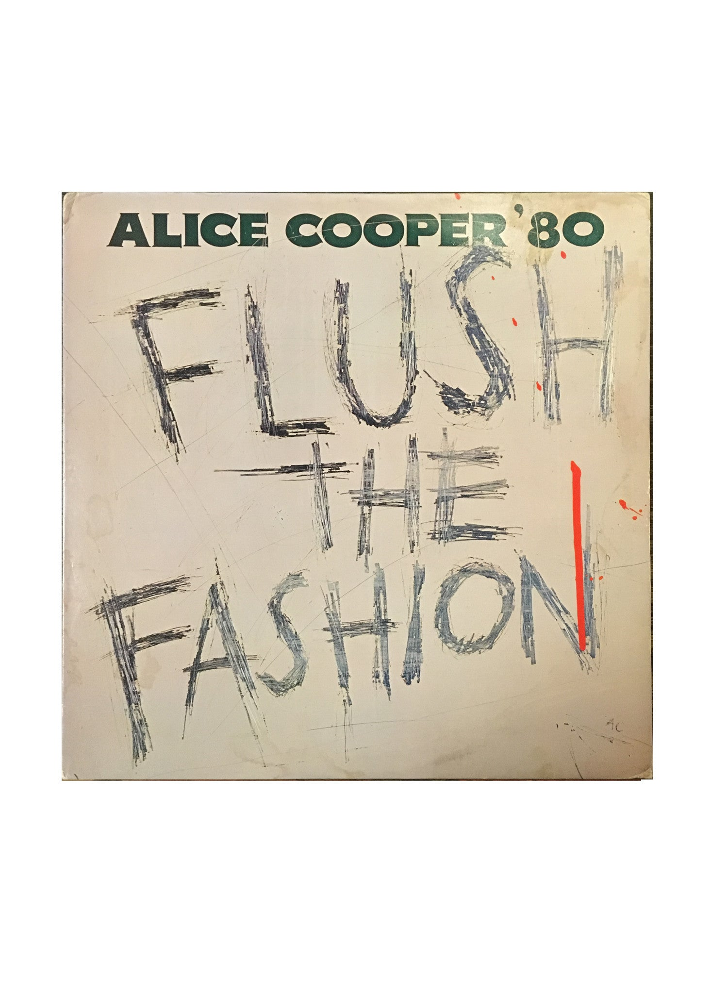 "Alice Cooper - Flush The Fashion (LP 12"")"