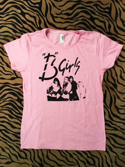 B Girls Band T (Baby Pink)