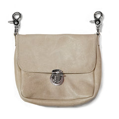 Leather Hip Bag - (Camel Leather)