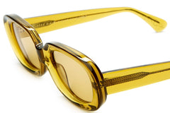 The Bikini Vision Crystal Kelp Square Sunglasses