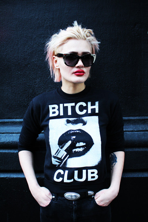 B*tch Club Crewneck Sweatshirt