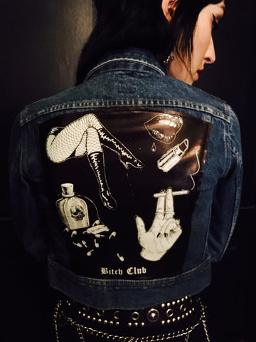 Bitch Club Vintage Denim Jacket
