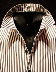 Goin' Steady Button Up (Black & White Pinstripe)