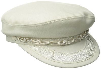 Greek Fisherman Hat (Bone White)