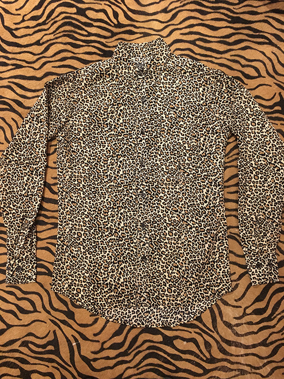 Classic Leopard Button Up