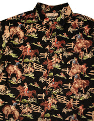 Cowboy Button Up (Corduroy Print)