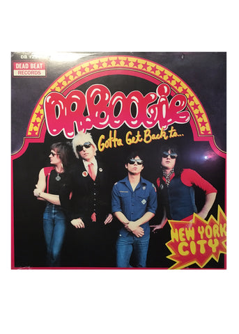 "Dr. Boogie - Get Back To New York City (LP 12"")"