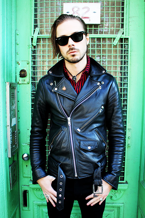 Men's Bowery Motorcycle Jacket