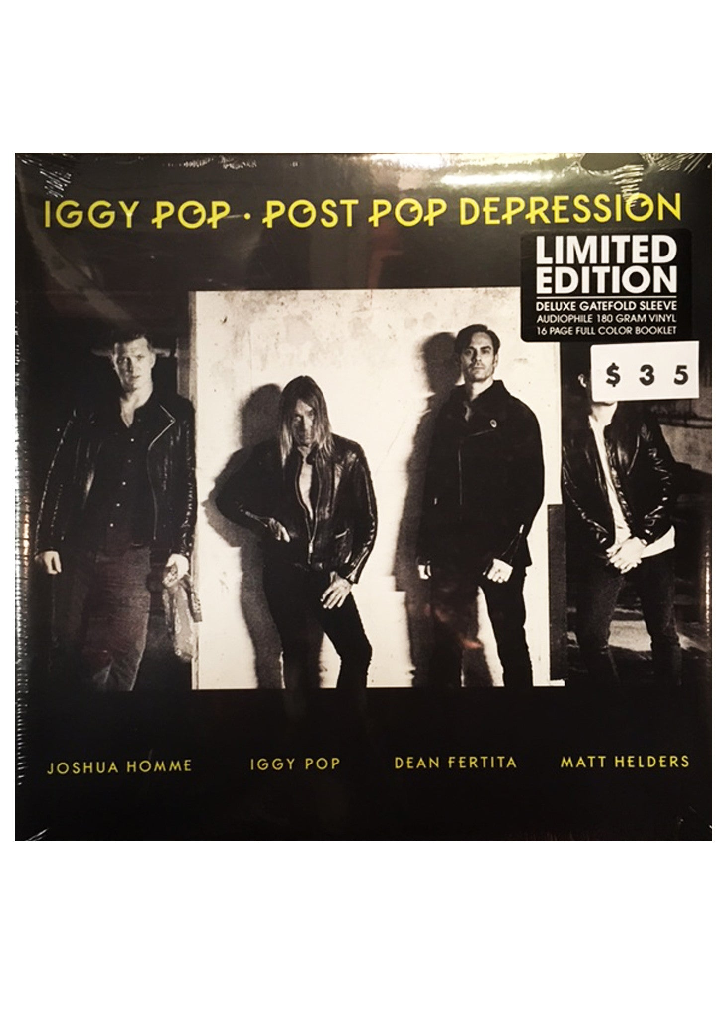 "Iggy Pop - Post Pop Depression (LP 12"")"