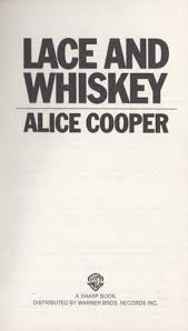 "Alice Cooper Record - Lace And Whiskey (LP 12"")"