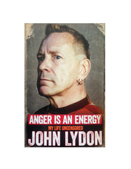 John Lydon - Anger Is An Energy *Signed Copy*