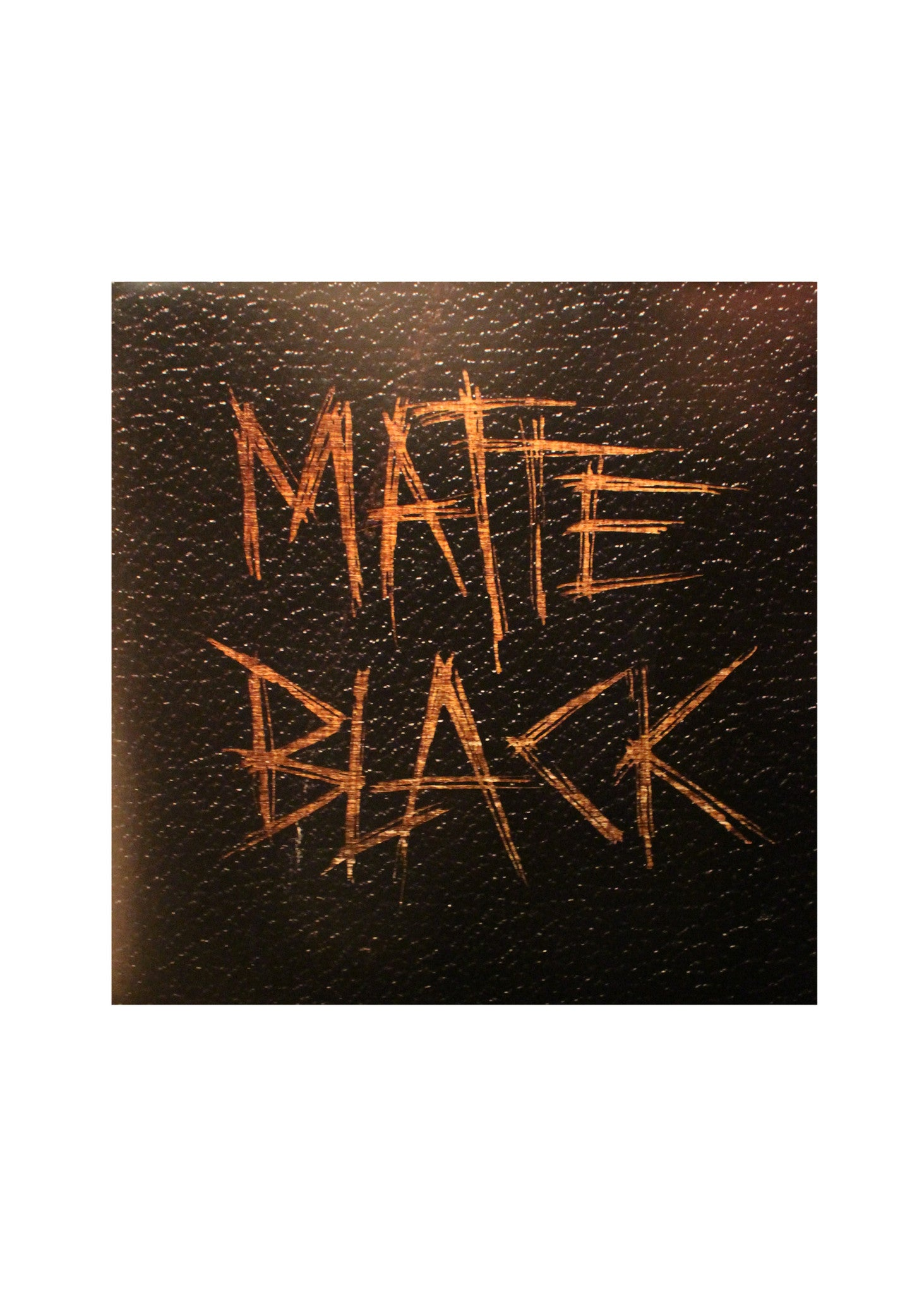 Matte Black - Lowlands (LP)