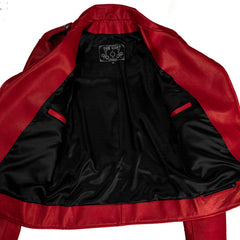 BOWERY JACKET - Red