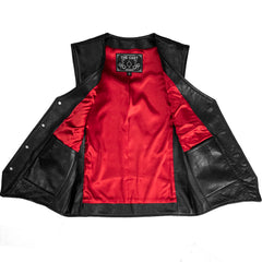 Outlaw Vest - Red Lining