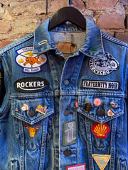 PHANTOM VEE DENIM JACKET