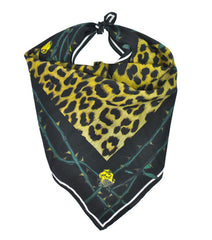 Rose Leopard Bandana (Gold)