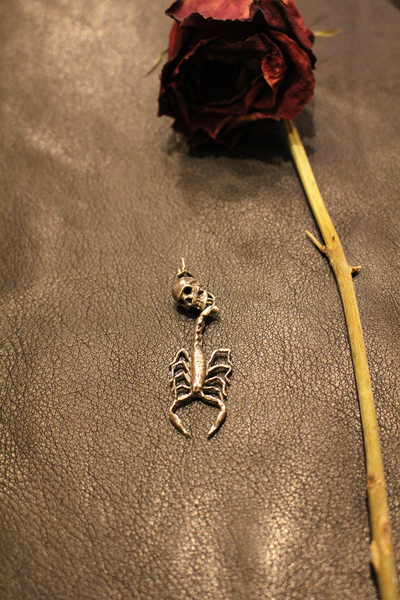 Mercury Hour Scorpion & Skull Earring