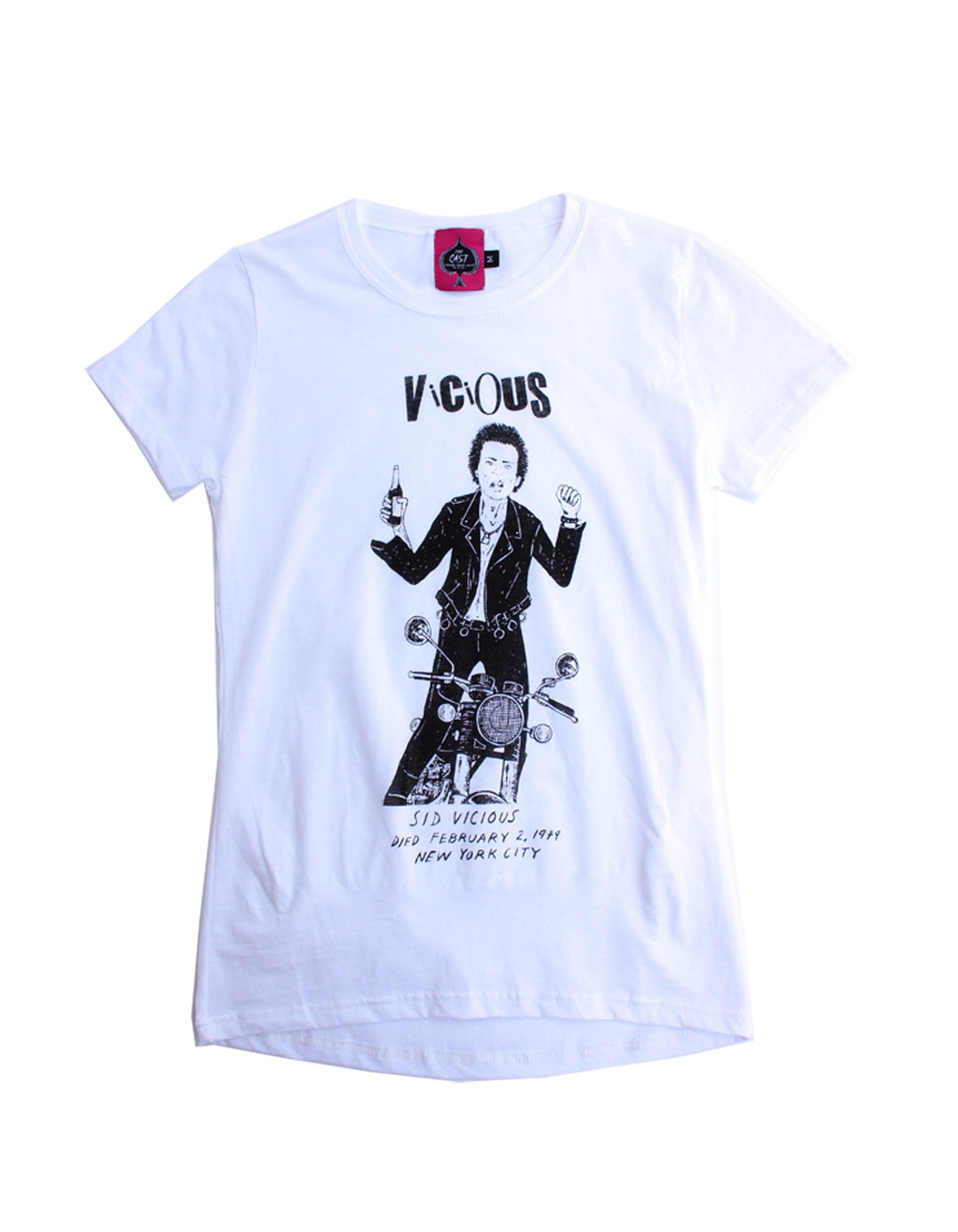 Vicious - Sid Vicious (WOMEN'S CUT)
