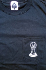 Candle Pocket T (Black)