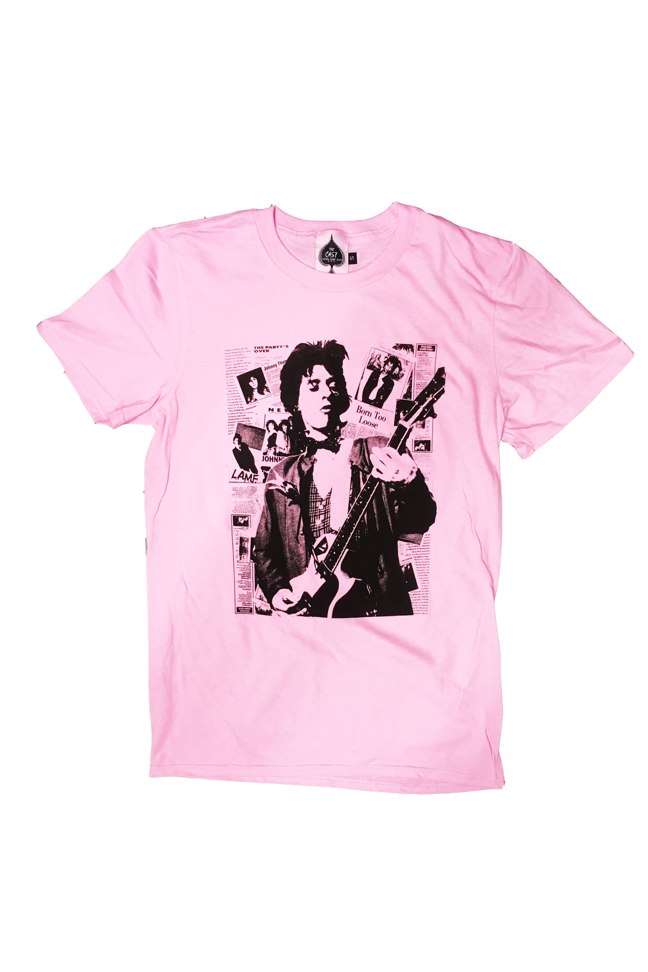 Johnny Thunders (Baby Pink)