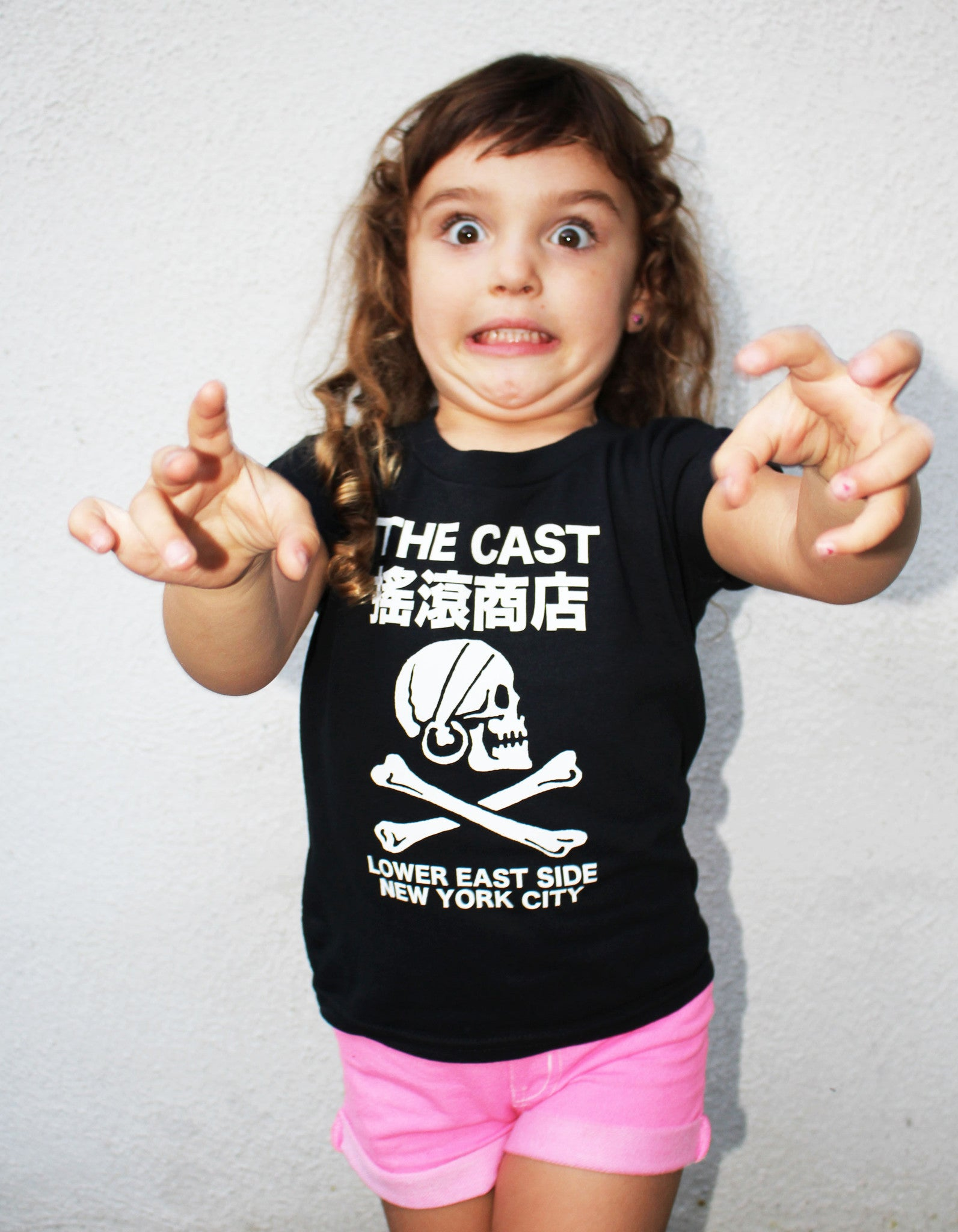 Kids The Cast T (Black)